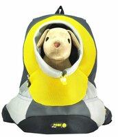 Переноска для собак Ziver Crazy Paws Small переноска-рюкзак до 3 кг желтый 37x14x36,5