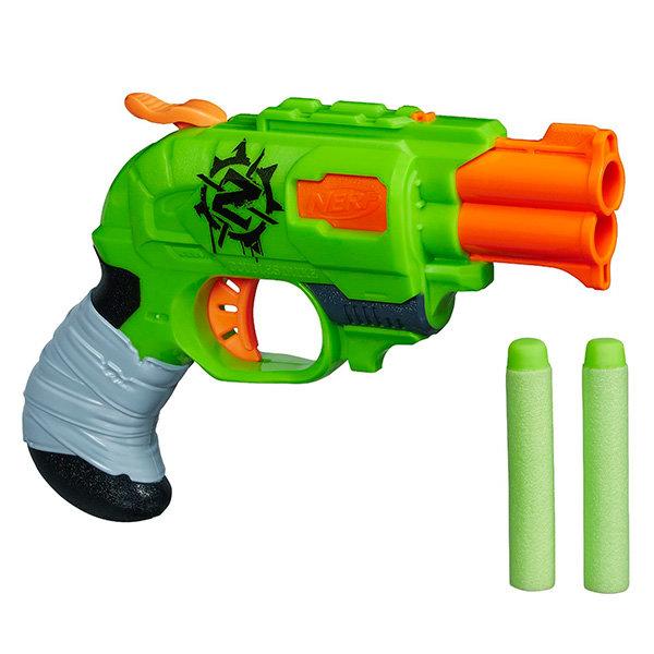 Игрушечное оружие Hasbro Nerf A6562 Нерф Бластер Зомби Страйк Двойная Атака