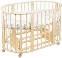 Кроватка-трансформер Sweet Baby Delizia 10 в 1 с маятником Avorio/Слоновая кость