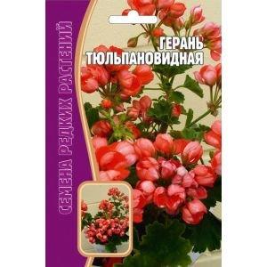 Семена цветов Герань Тюльпановидная