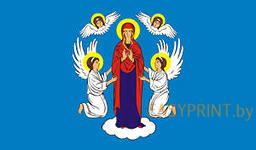 """Флаг """"Герб Минска"""" (60x120 см)"""