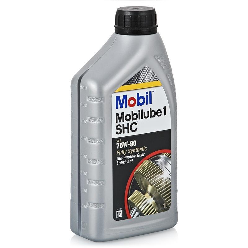 Трансмиссионное масло Mobil Mobilube 1 SHC 75W-90, 1 л, 152659
