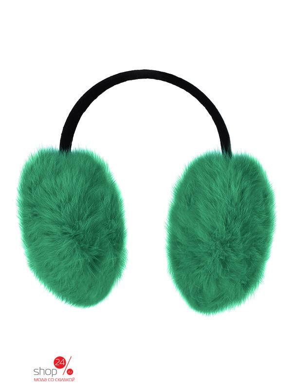 Наушники MiLiLook для девочки, цвет зеленый, ML150091