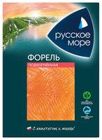 Форель Русское море филе ломтики подкопченные 120г