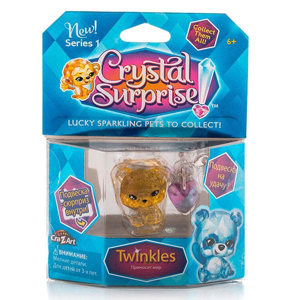 Фигурка Crystal Surprise 45706 Кристал Сюрприз Фигурка Панда + подвески