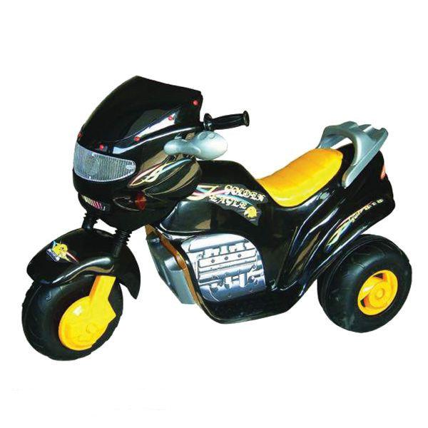 Электромобиль TCV Детский электромотоцикл -818 GOLDEN EAGLE II черный