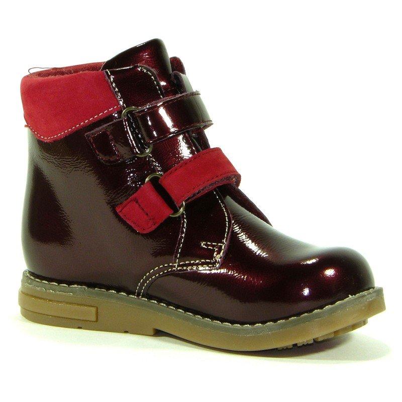 Ботинки Shagovita Ботинки Shagovita, цвет бордовый, артикул 25122 Б