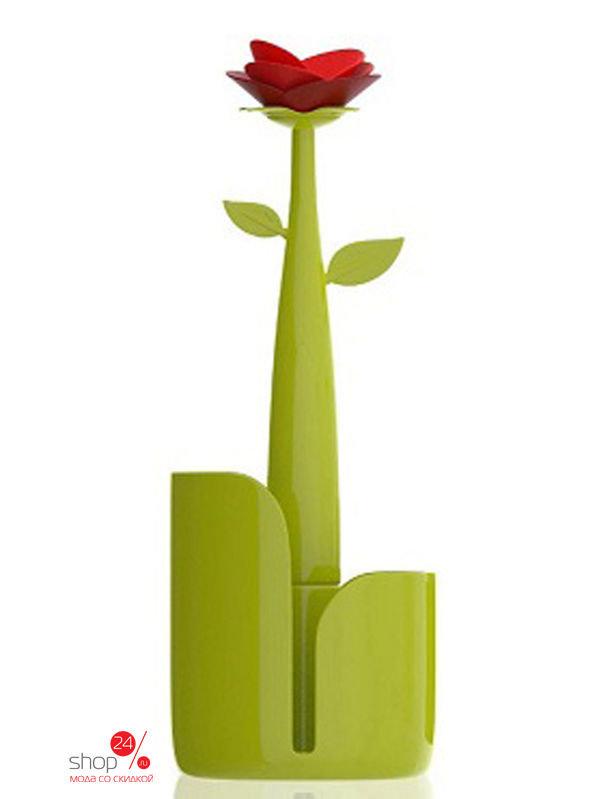 Держатель для бумаги VIGAR, цвет зеленый, красный, 5322