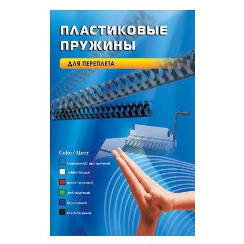 Пружины пластиковые для переплета OFFICE KIT 8 мм, белые, 100 шт.