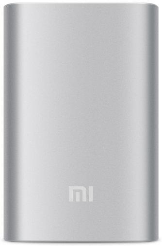 Зарядное устройство Xiaomi Mi Power Bank 10000 Silver