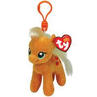 Пони Apple Jack (Эпл Джек) My Little Pony, 15 см, брелок Beanie Boo's TY 41101