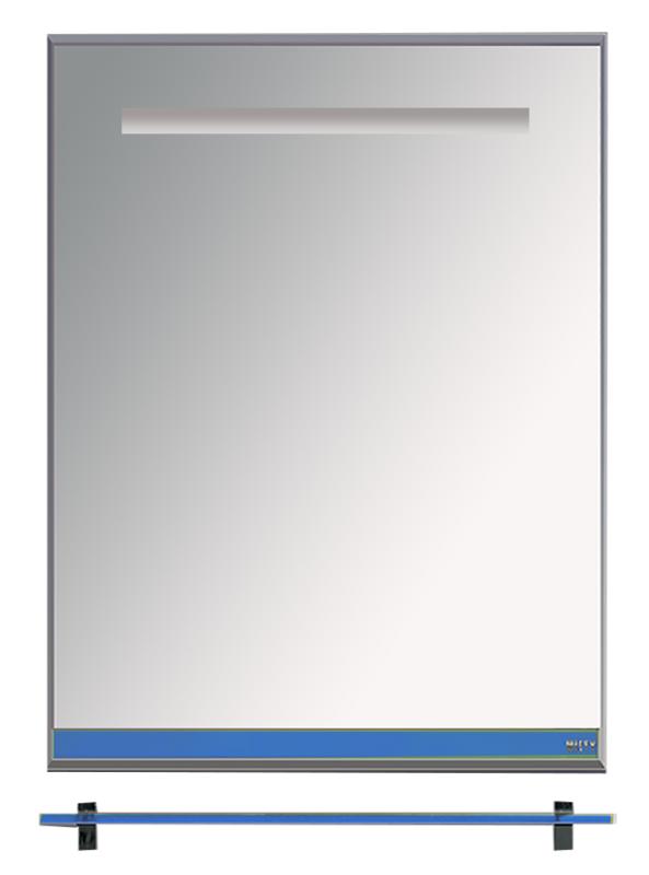 Misty Зеркало с полочкой Джулия Л-Джу03060-1110, синее стекло