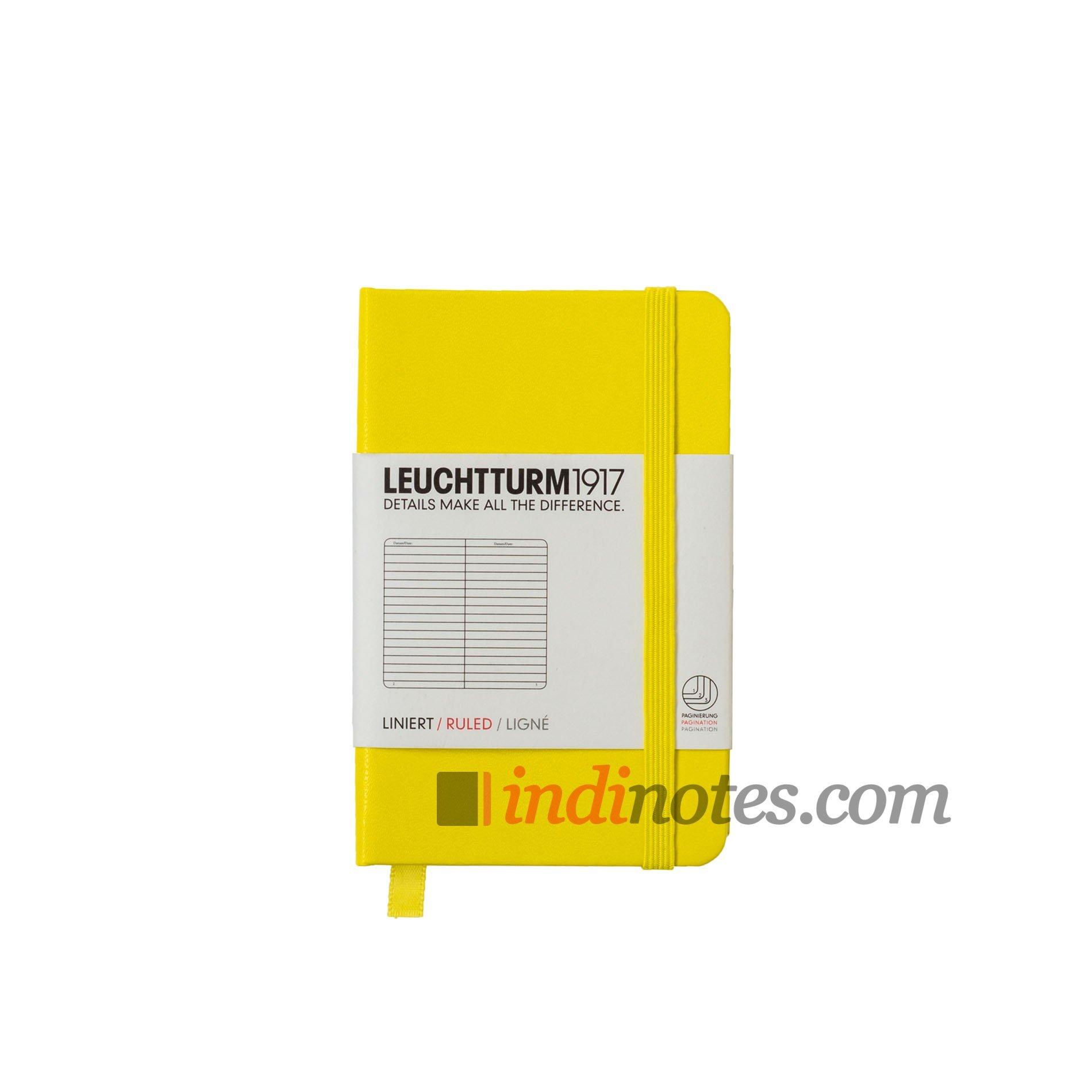 Leuchtturm1917 Mini Notebook Lemon