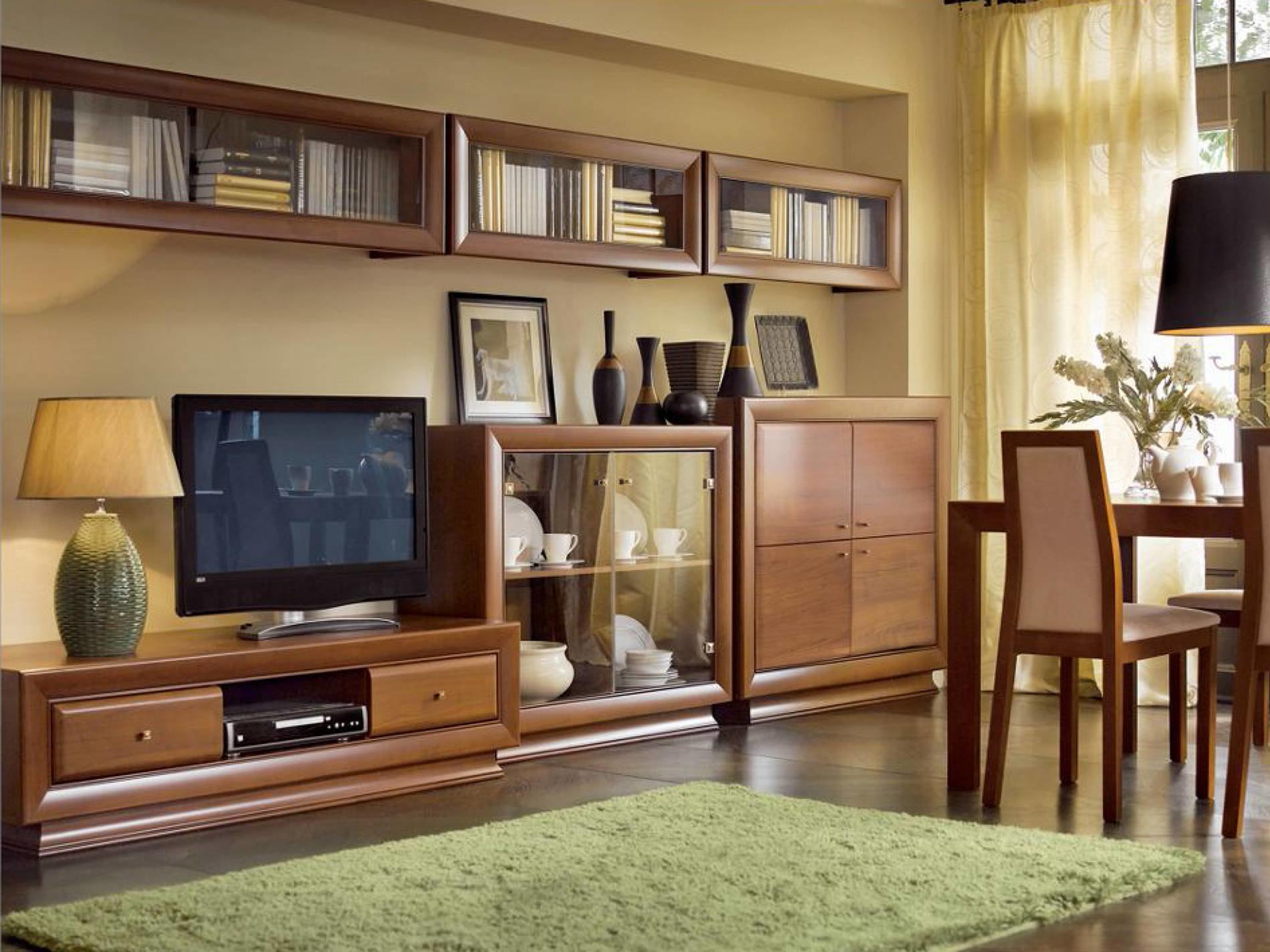 Купить гостиные модульной системы ларго классик по цене (зав.