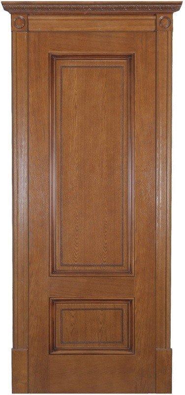 Межкомнатные двери Дверной Лидер Классик Йорк Медовый дуб ПГ