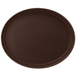 Поднос овальный прорезиненный 56x68 см коричневый CAMBRO 4080113