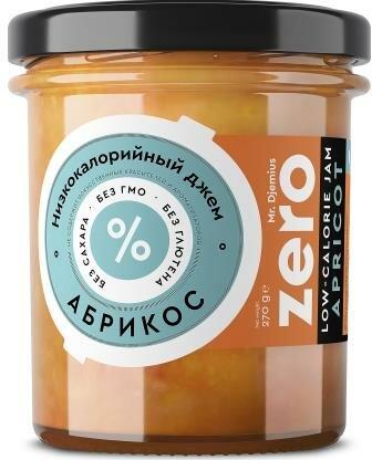 Джем низкокалорийный Zero Абрикос 270 г