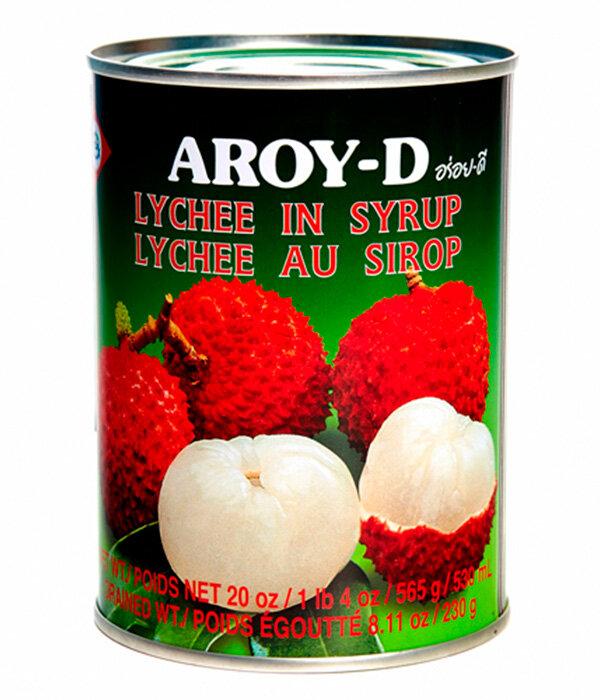 Aroy-D Личи в сиропе, 565 г