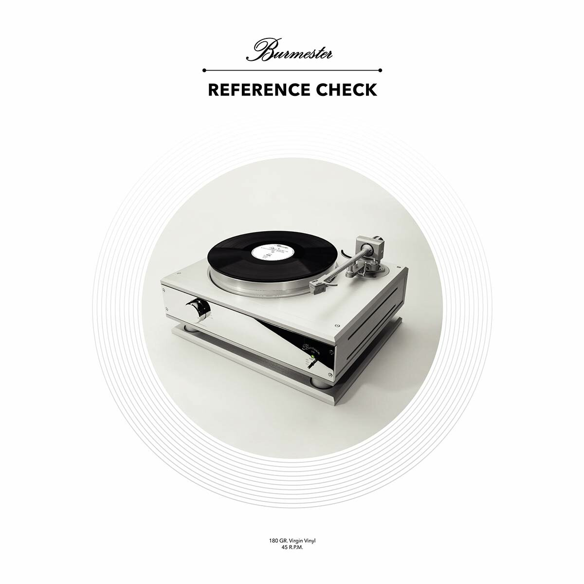 Виниловая пластинка Inakustik 01678061 Burmester Reference Check (45 RPM) (LP)
