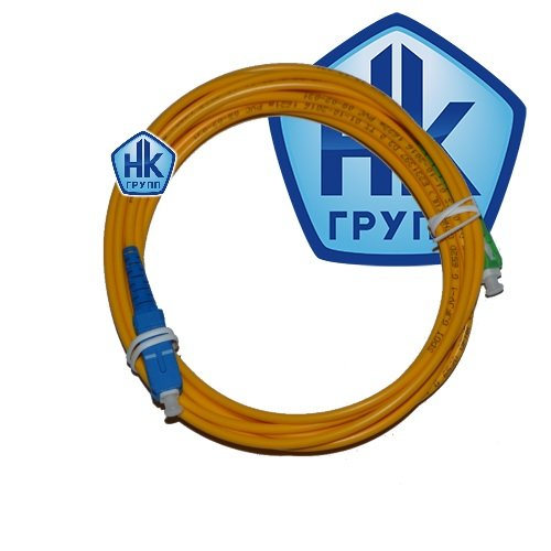 Оптический Патчкорд SC/UPC-SC/APC SM simplex 3м