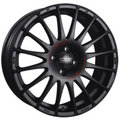 Диск OZ Superturismo GT 8x17/5x105 ЕТ40 D56,6 Matt Black + Red Lettering - фото 1