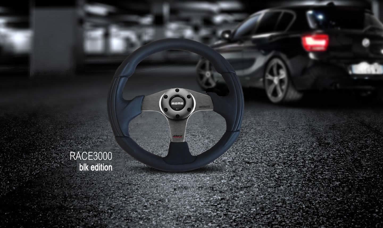 Руль momo Race3000 blk edition