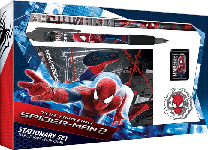 "Набор канц. Академия Групп ""Spiderman"" (блокнот + ручка автом.) SMBB-US1-360"