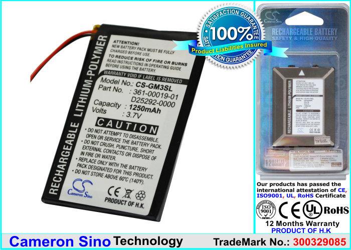 Аккумулятор для Garmin iq M3/M4 Cameron Sino CS-GM3SL