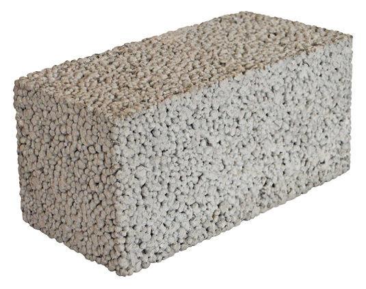 керамзитобетонные стеновые полнотелые блоки
