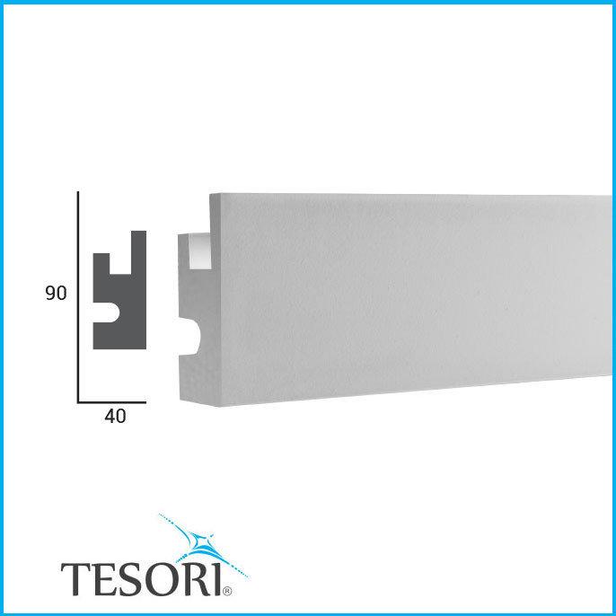 Карниз для скрытого освещения Tesori KD-301