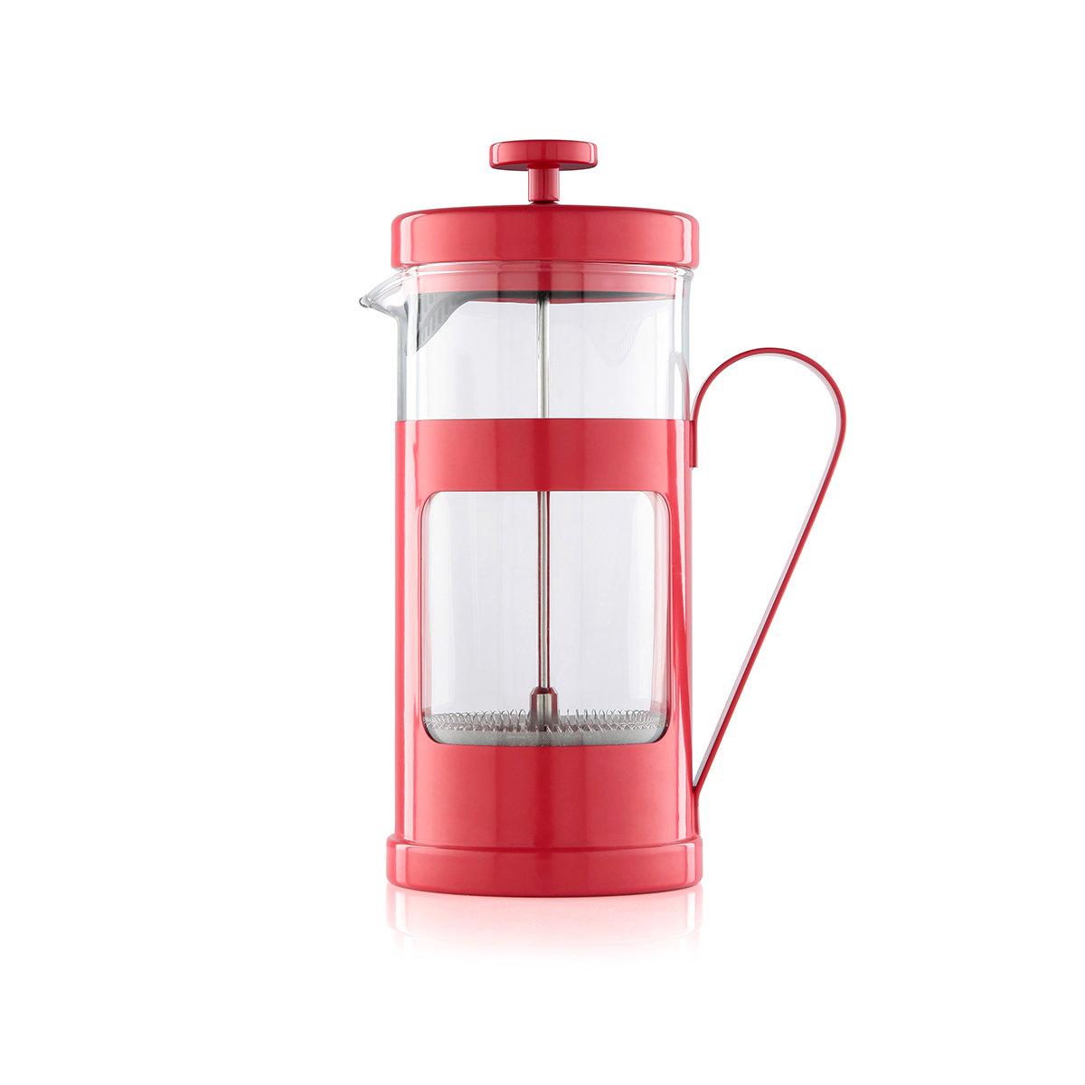 Френч-пресс LA CAFETIERE MONACO красный