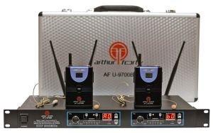 Радиосистема на два микрофона Arthur Forty U-9700B