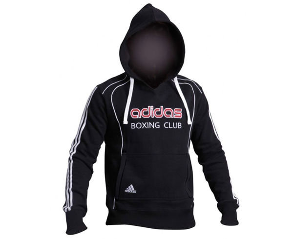 Толстовка с капюшоном (Худи) Hoody Sweat Boxing Club, черная Adidas