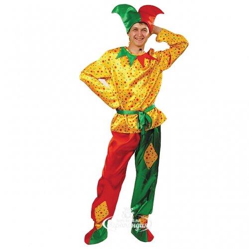 Батик Карнавальный костюм для взрослых Петрушка, 50 размер 6015-50