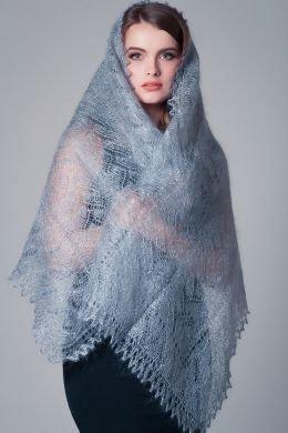Палантин Оренбургский пуховый платок