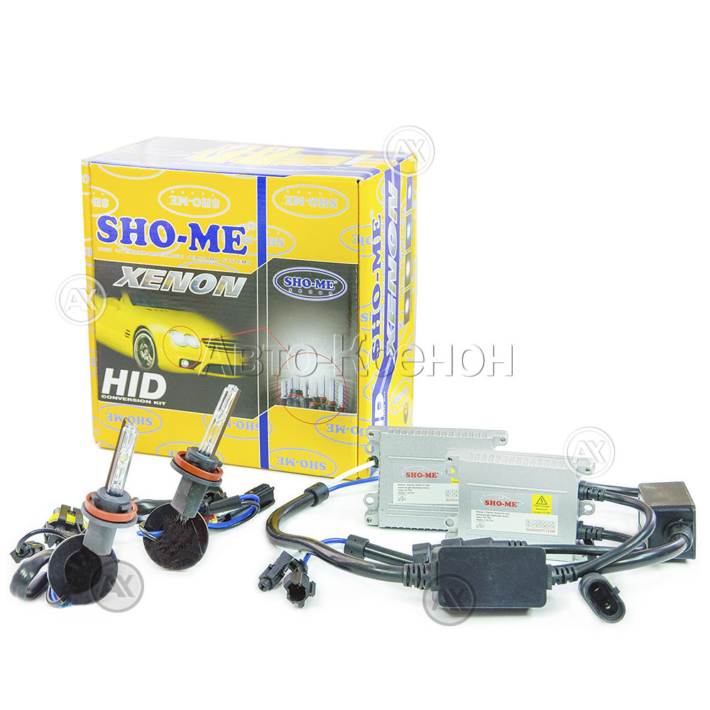 Ксенон Sho-Me Super Slim (9-16) H8/H9/H11 (5000K)
