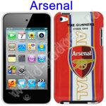 Пластиковый чехол для iPod Touch 4 (Arsenal Football)