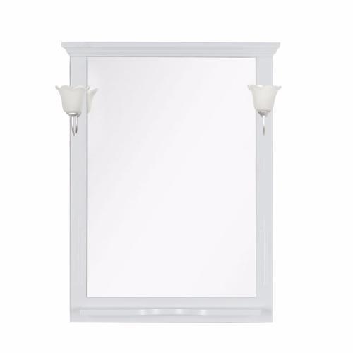 Aquanet Зеркало Лагуна 75 (175306) белое матовое