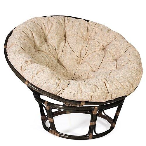 Кресло TETCHAIR PAPASAN 23/01 W с подушкой (Античный коричневый)