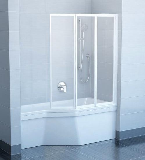 Пластиковая шторка для ванны Ravak VS3 130 x 140 130 / 140 см