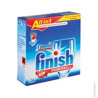 """Средство для мытья посуды в посудомоечной машине Finish """"Power ball"""" в таблетках, 13шт."""