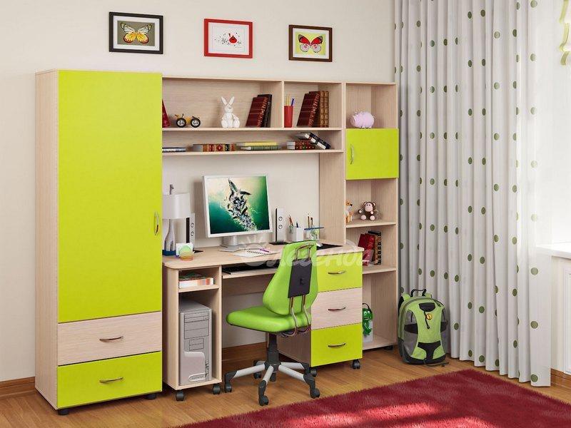 Комплект детской мебели Легенда 4 60х180 см