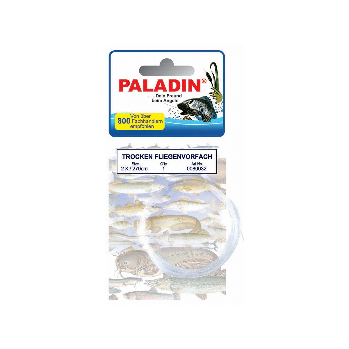 Подлесок рыболовный PALADIN 2X0,22 270см