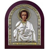 Икона Святой Пантелеймон, Размер 17х20