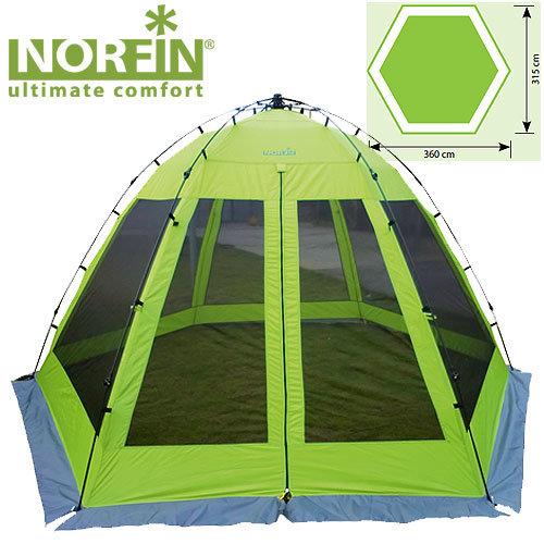 NF-10802 Тент-шатер автоматический norfin lund nf летний 15кг