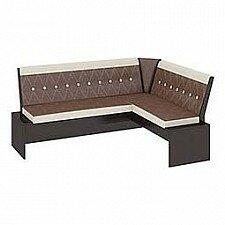 Уголок кухонный Мебель Трия Диван Кантри Т1 исп.1 венге/темно-коричневый