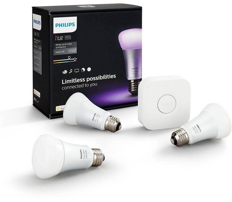 Умные лампы Philips Hue White and color