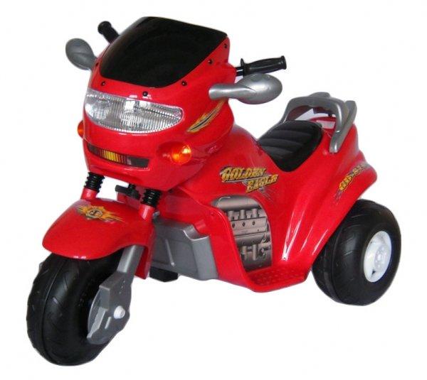 Электромобиль TCV Детский электромотоцикл -818 GOLDEN EAGLE II красный