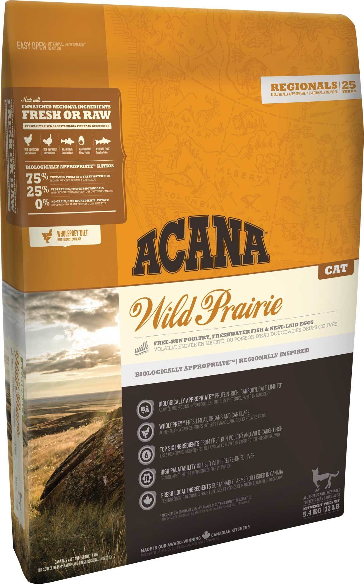 Сухой корм для кошек Acana Regionals Wild Prairie for Cats (5,4 кг)