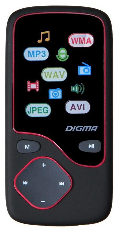 Медиаплеер Digma Cyber 3L 4Gb (черно-красный)